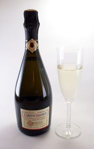 Prosecco must come from a bottle (source: Wikipedia)