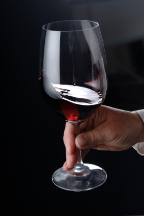 Give the wine a little swirl in a glass